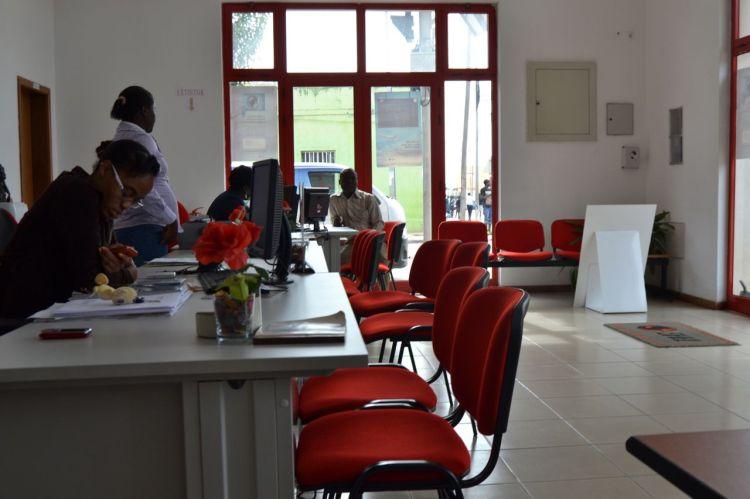 Oficinas de TAAG en Kuito
