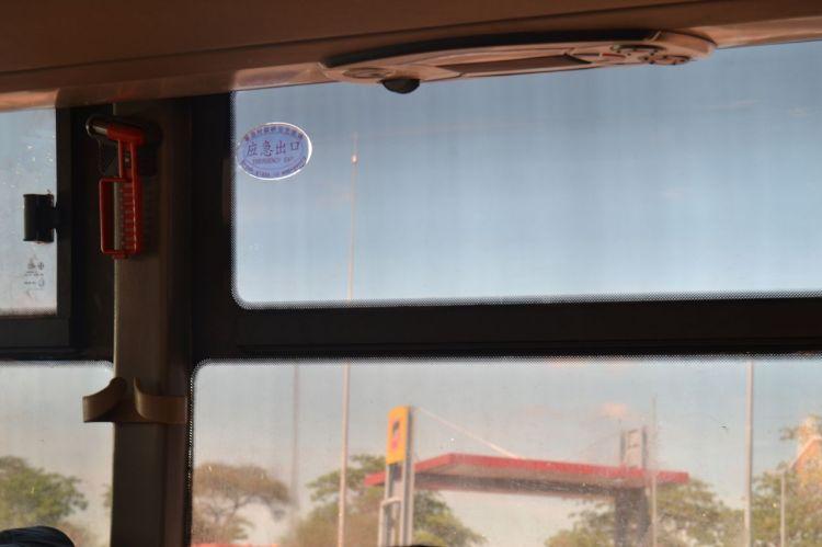 También los chinos en los autobuses