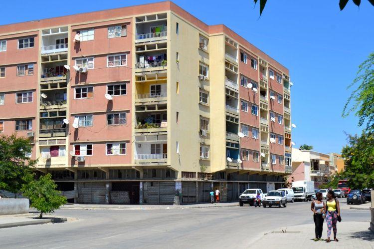 edificio de pisos en Benguela