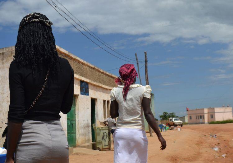 Mujeres en Nharea