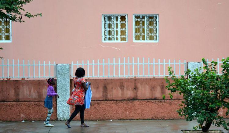 Camino del colegio