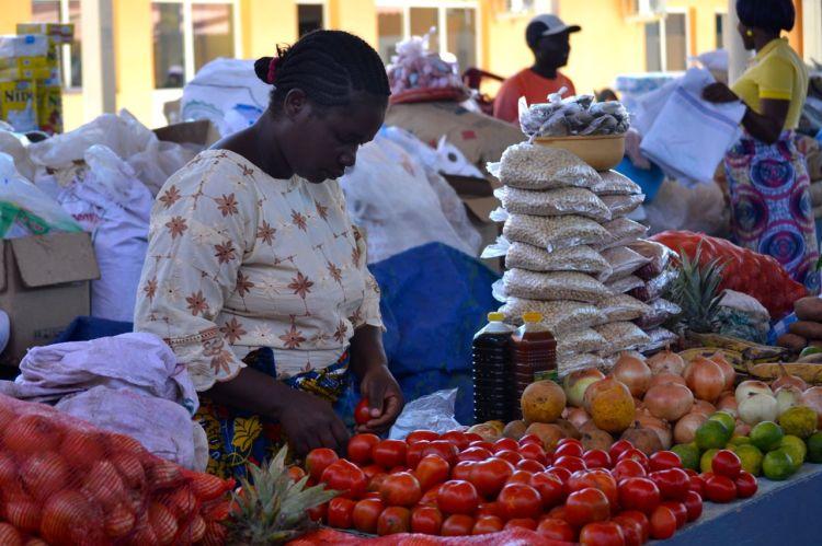 Mercado de Kuito