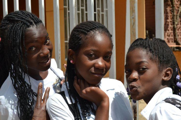 La adolescência empieza antes en Angola