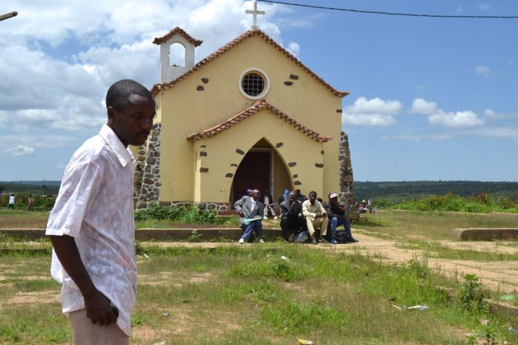 La iglesia de Nharea