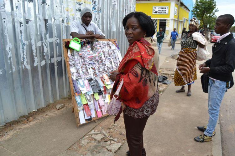 La compradora de pendientes