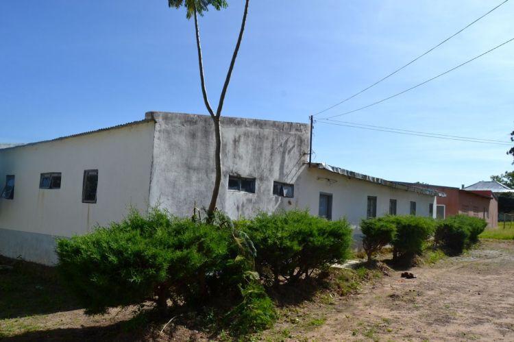 Barracón de las mujeres en Wongo