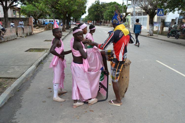Carnaval en Kuito