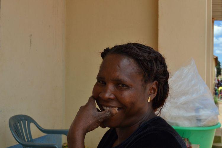 La mujer de Lukitondi Ntete