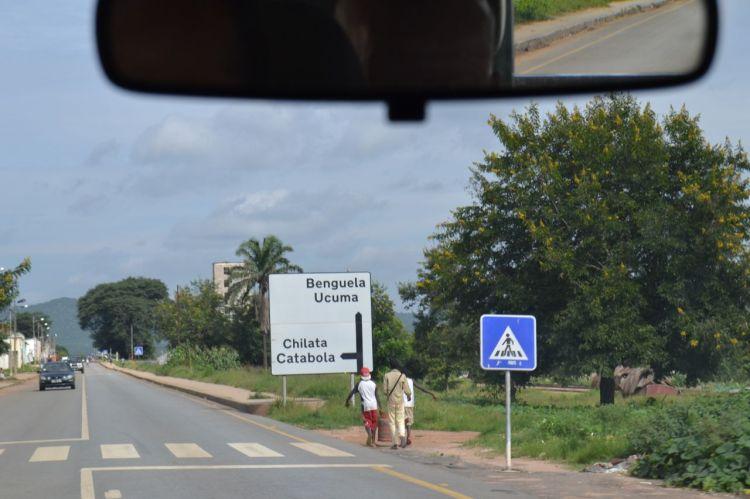 De Kuito a Benguela