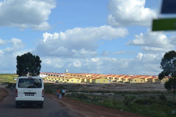 Nuevas vivendas en  Kunhinga