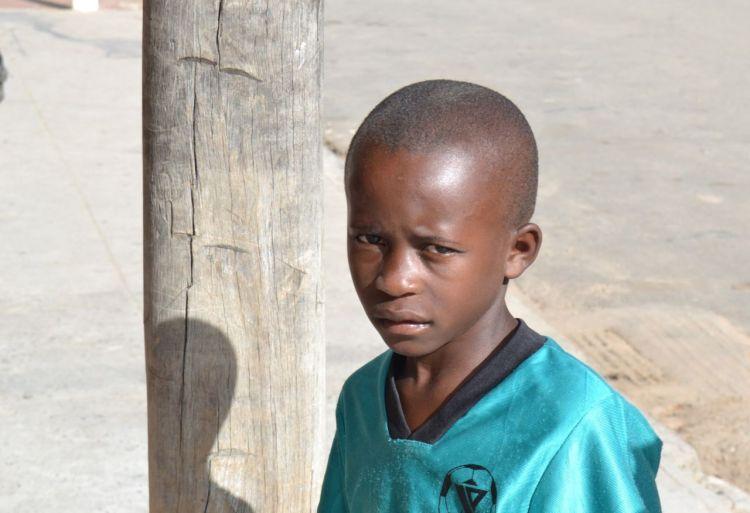 Un niño de la calle