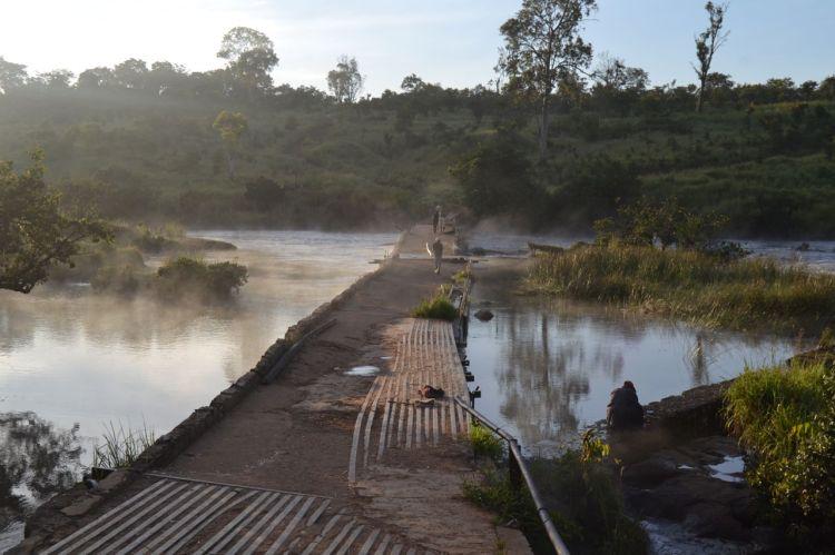 El rio Kuemba