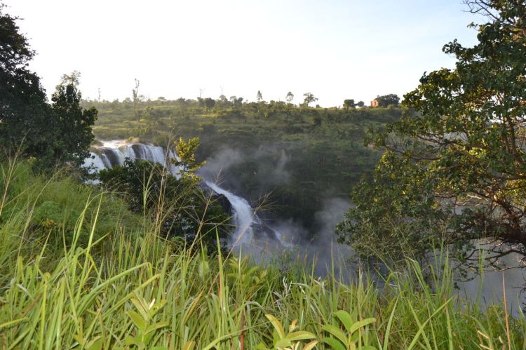 La catarata del Kuemba