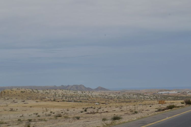 Desierto antes de llegar a Benguela