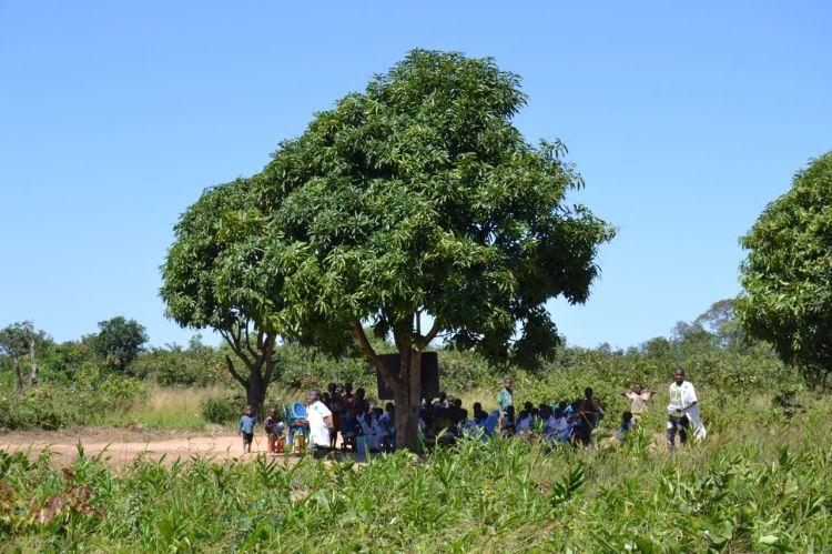 La escuela en Samaquina
