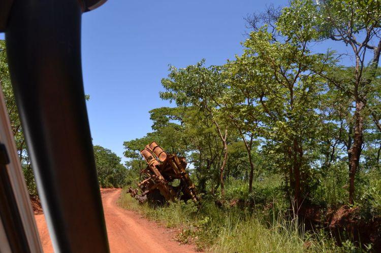 Carretera de kuemba a Kuito
