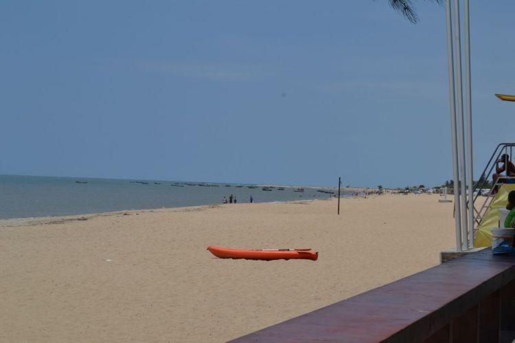 Playa Morena mirando al norte