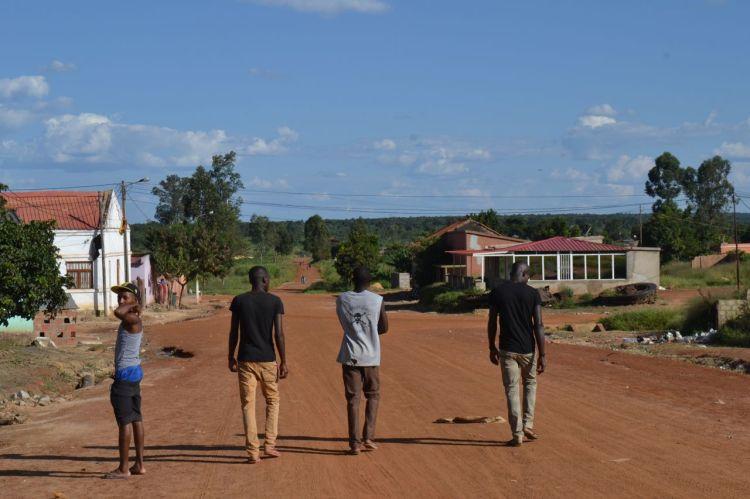 En la calle de Kuemba