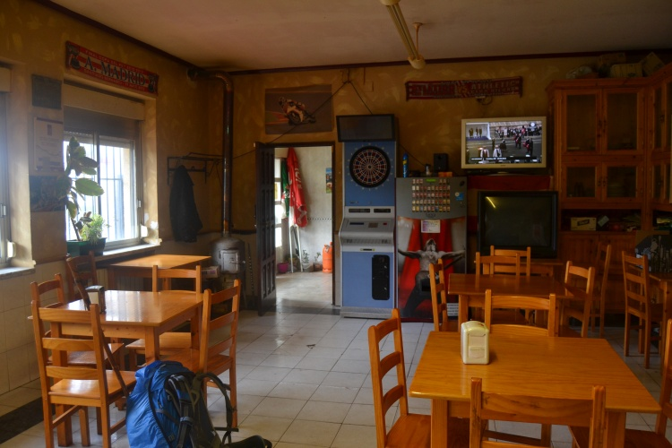 El bar de Fresno del Camino