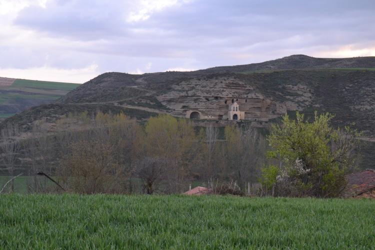 Virgen de la Peña en Tosantos