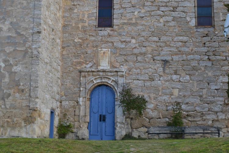 Puerta de la iglesia de Tosantos
