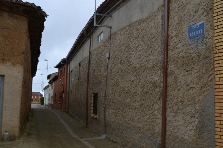 La calle Oscura de Reliegos