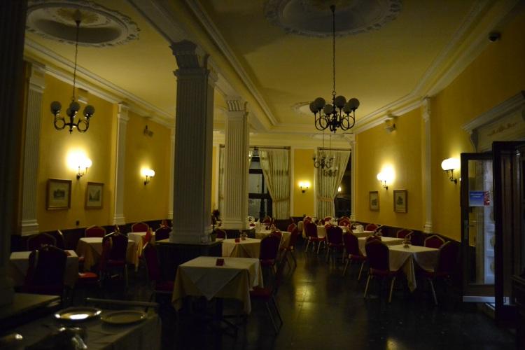 El comedor del hotel Madrid