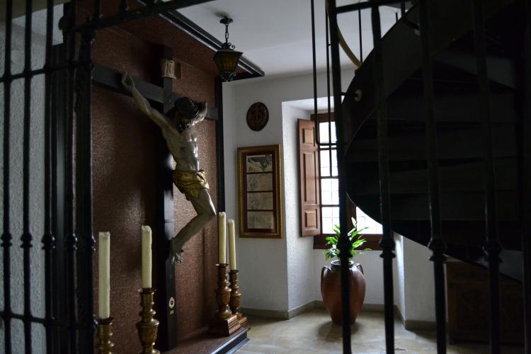 La entrada a mi habitación.