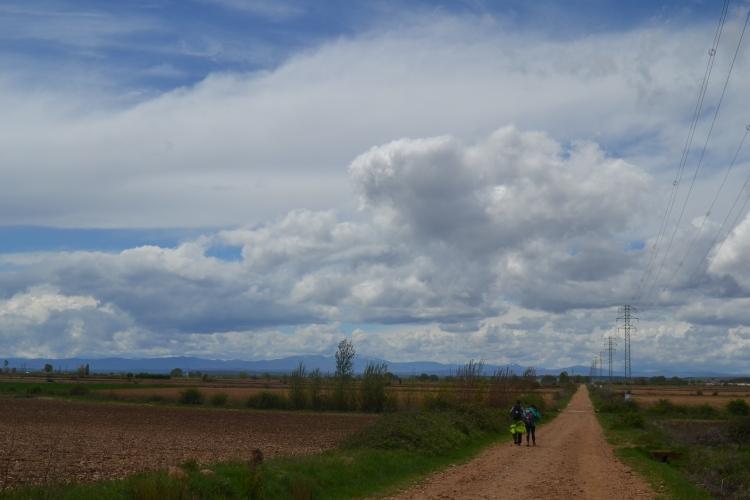 Los checos camino de Villavante