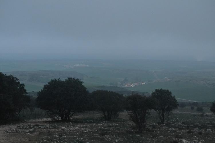 Desde lo alto de la sierra de Atapuerca