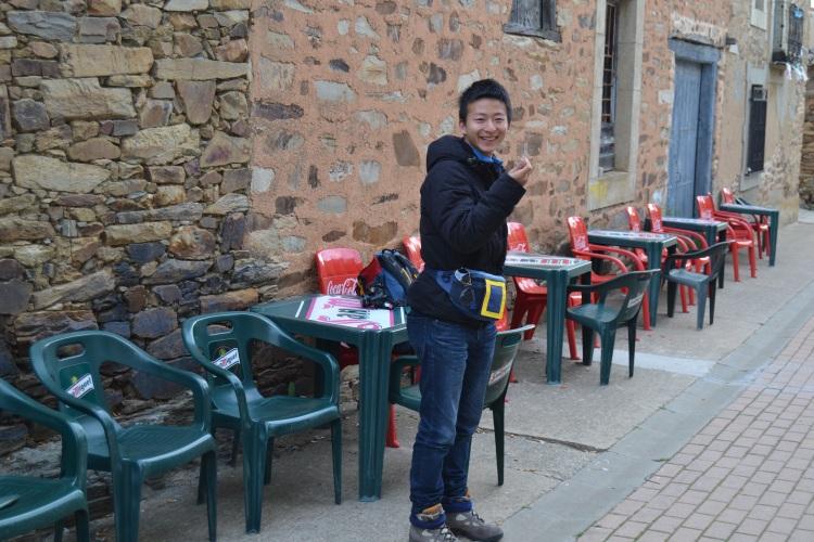Un chino de China que está en España estudiando