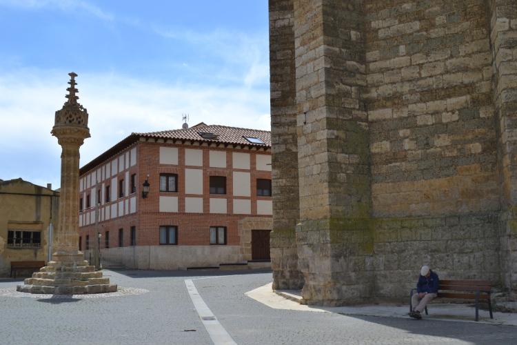 La columna. Rollo de justicia de Castilla. S.XV