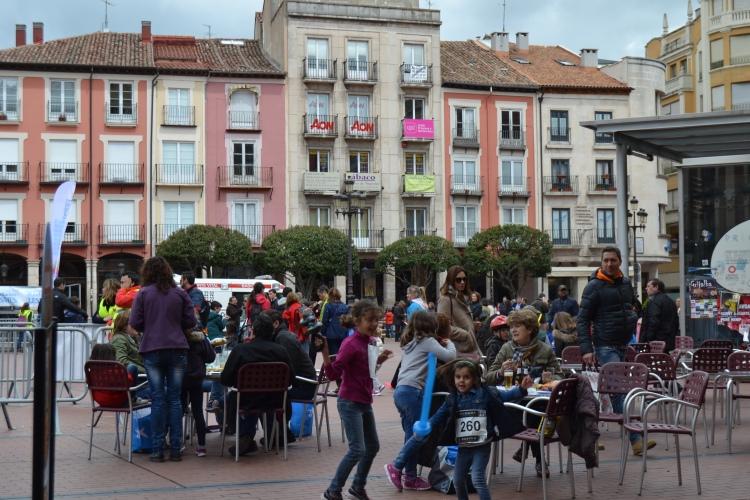 Mañana de domingo en Burgos