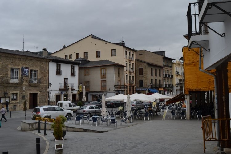 Villafranca. Plaza Mayor