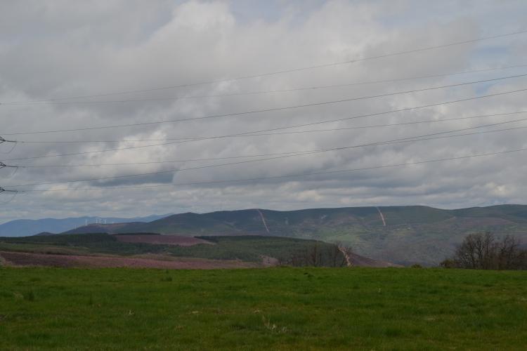 Vistas desde Foncebadón