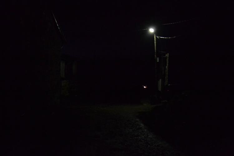 Primera foto del día en Foncebadón