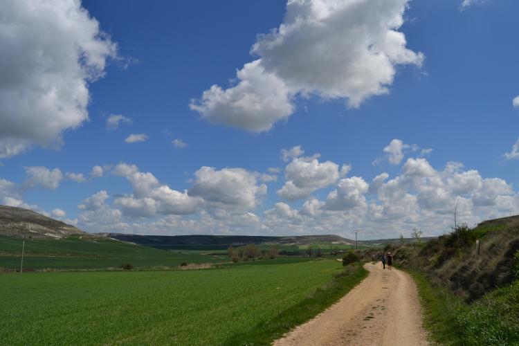 Camino de Hontanas