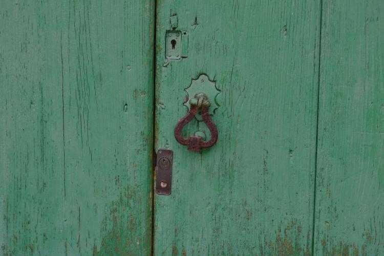 O tarabelo de una casa camino de Morgade