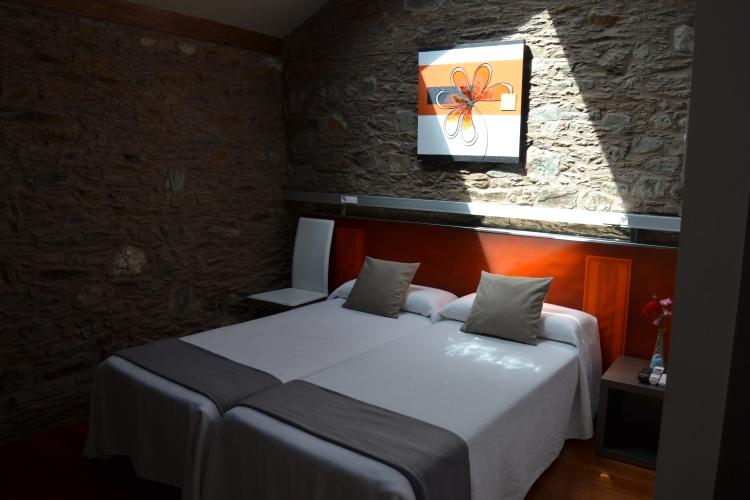 Mi habitación en el Albergue Turístico de Salceda