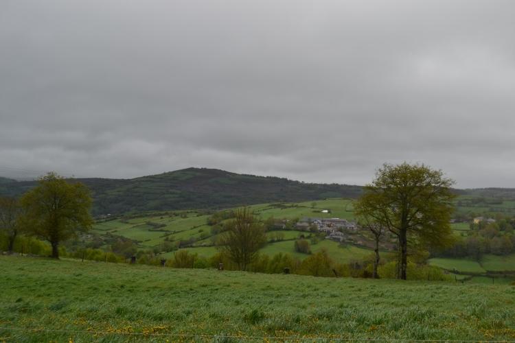 Triacastela desde Filloval