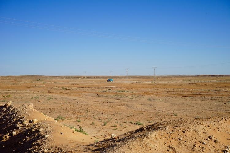 El desierto desde el Ministerio de Cooperación.