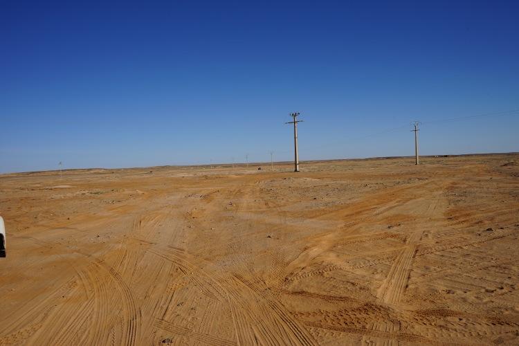 El campo en Rabuni.