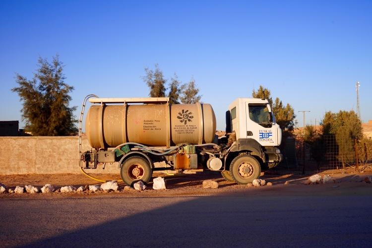 La traída de agua en Bujador.
