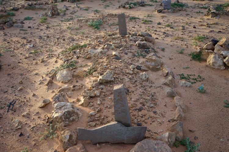 Detalle de un cementerio en Rabuni.
