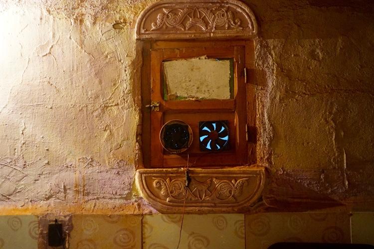 La ventana de donde del bar-pub-restaurante de Protocolo.
