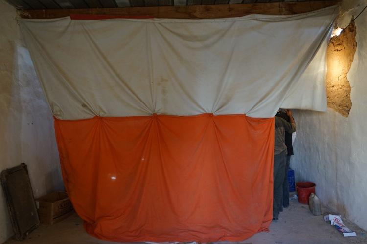 La cortina de la Panadería