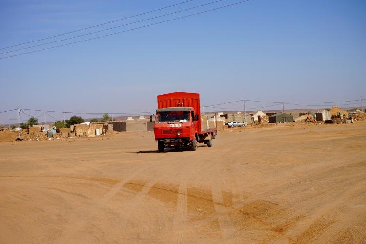 El camión de Cruzcampo