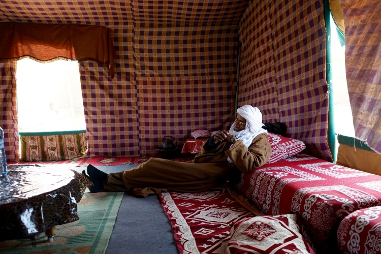 Un invitado saharaui