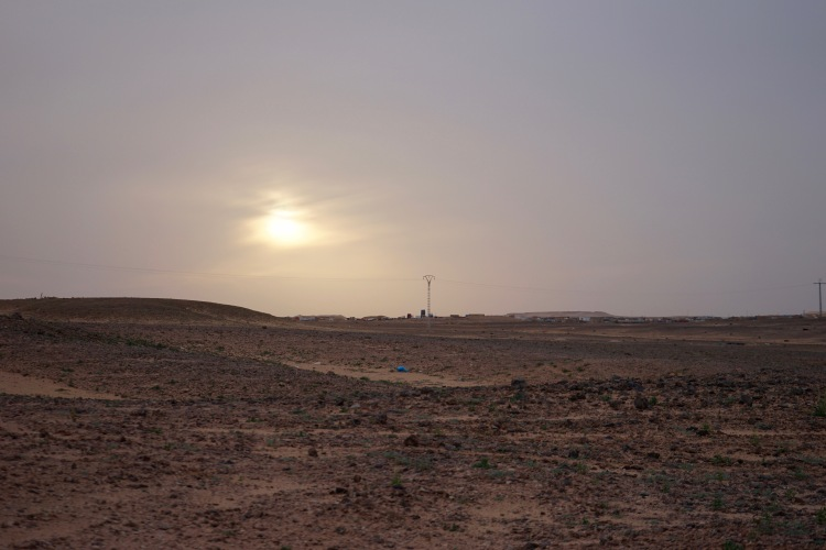 Se pone el sol sobre Rabuni
