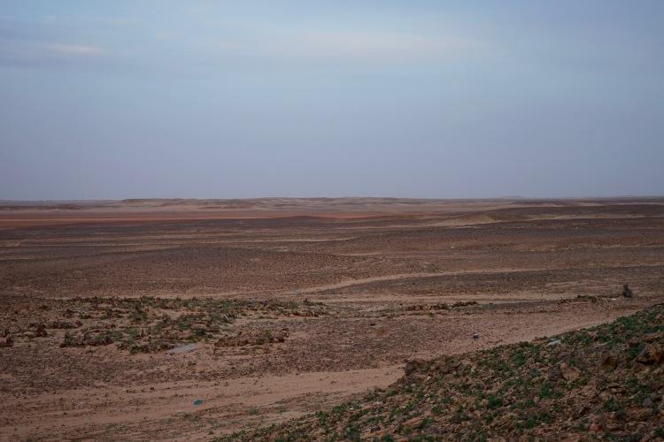 El desierto en Rabuni